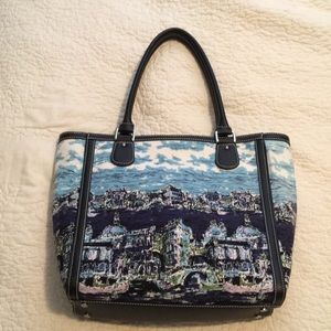 Authentic Talbots Venetian Scene Purse